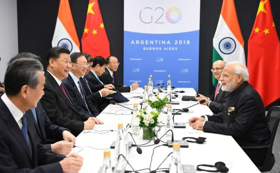 Prime Minister Narendra Modi on Friday interacted with several world leaders on the sidelines of the G20 Summit in Buenos Aires. Twitter/@PIB_India