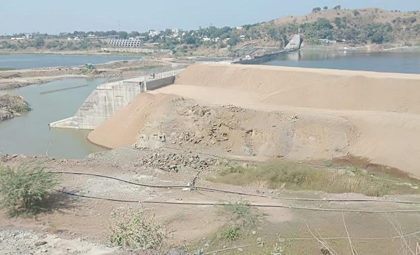 The Gadushwar dam on River Narmada. Rajnish Mishra/101Reporters