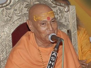 Former Shankaracharya Swami Satyamitranand Giri urges Narendra Modi to build Ram temple in Ayodhya, to go on fast from 6 Dec