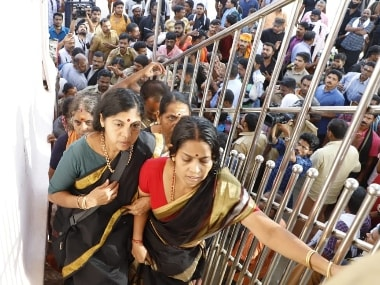 Sabarimala: 52-yr-old woman enters after scuffle with protesters over age despite showing ID proof; media attacked at base camp