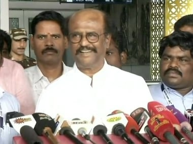 Rajinikanth clarifies his 'dangerous party' remark on BJP, says he was merely inferring what 'united Opposition' thinks
