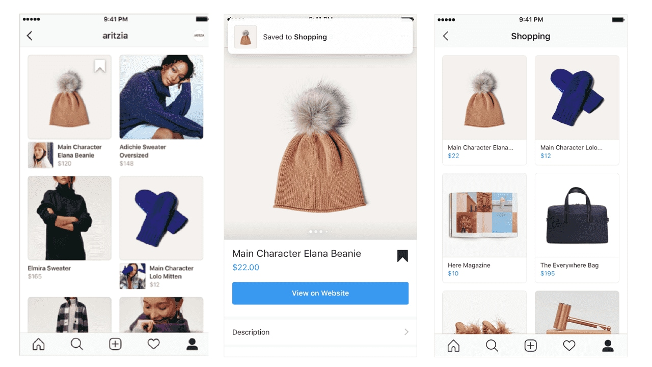 One thing is certain, Instagram now wants you to see the platform as your destination for a shopping destination.