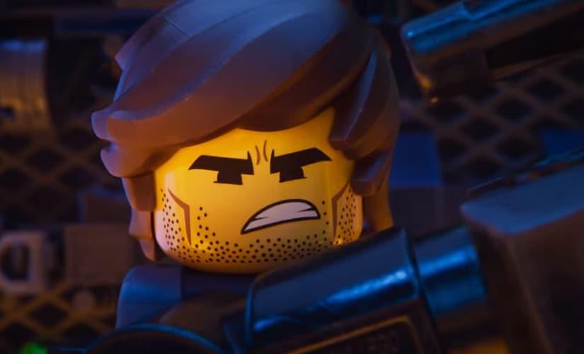Chris Pratt's character Rex Dangervest. Screenshot from YouTube