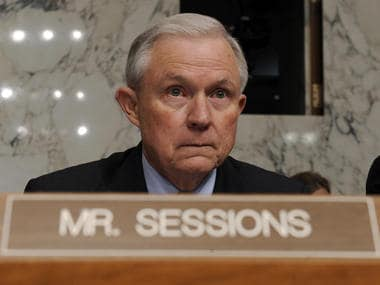 File picture of Jeff Sessions. AP