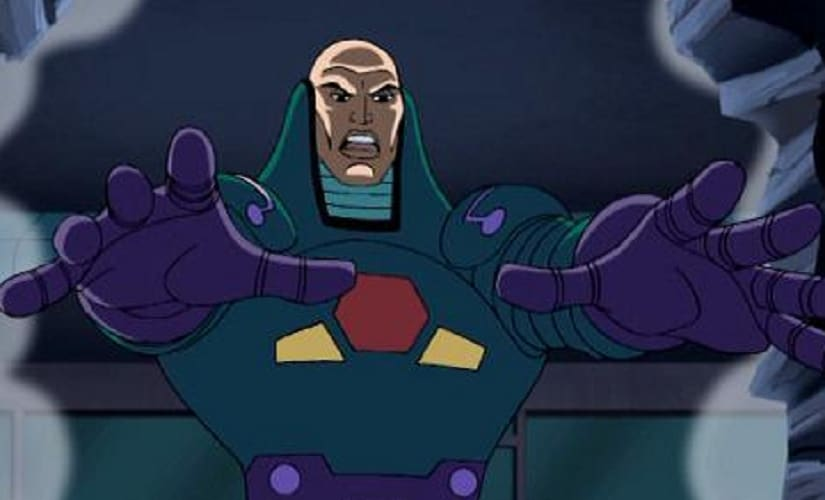 Seems like every genius billionaire has an armoured battle suit these days | Source: Justice League the Animated Series