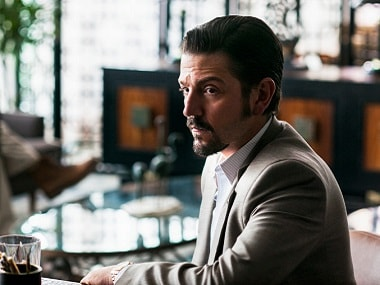 Diego Luna as Miguel Ángel Félix Gallardo in Narcos: Mexico