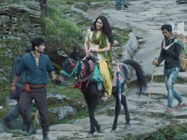 Sushant Singh Rajput and Sara Ali Khan in a still from Kedarnath
