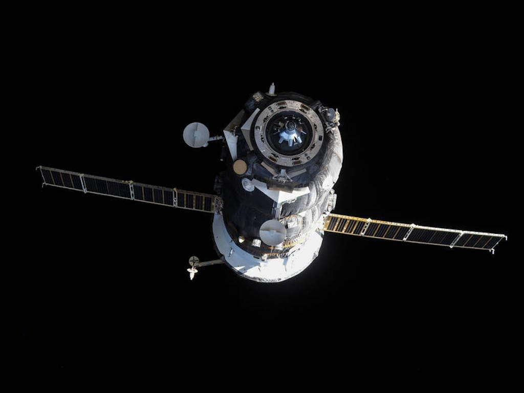 Russian Progress 60 cargo craft. Image: NASA
