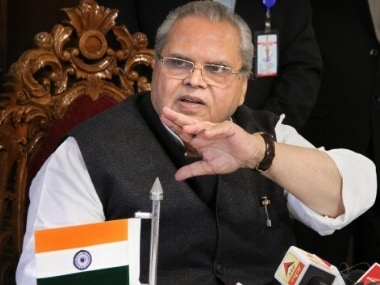 File image of Satya Pal Malik. PTI