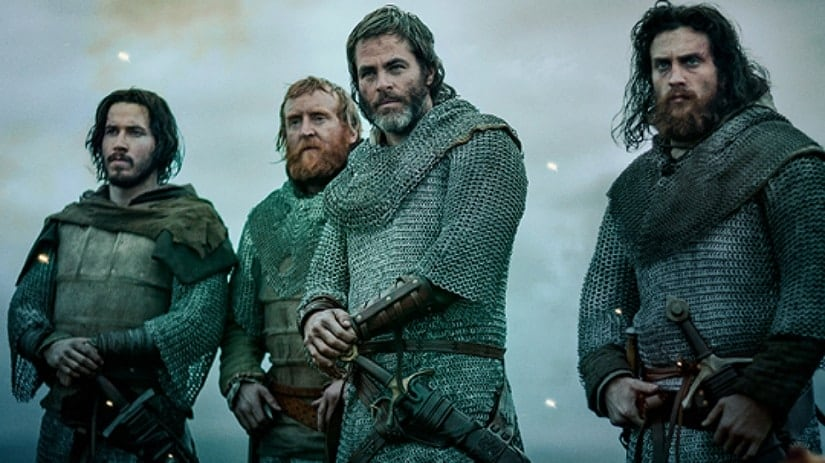 Still from The Outlaw King. Netflix