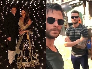 SRK's Diwali bash; Chris Hemsworth visits India to film Netflix thriller Dhaka: Social Media Stalkers' Guide