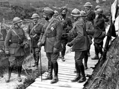 Indian soldiers during World War-1. CNN-News18
