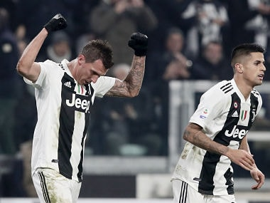 If Paulo Dybala and Cristiano Ronaldo symbolise the free-flowing Juventus, then Mario Mandzukic defines another side of the club. AFP