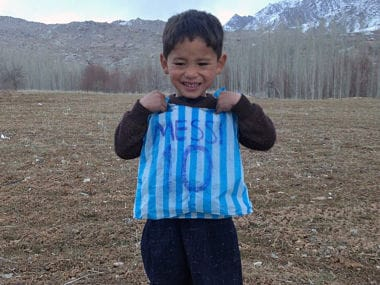 From dream to nightmare: Afghanistan's 'Little Messi' forced to flee home after threats from Taliban