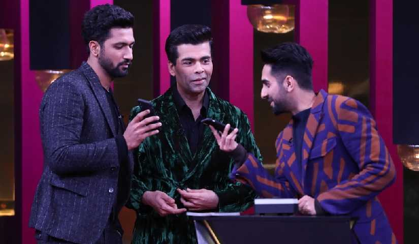 Koffee with Karan season 6: Vicky Kaushal reveals hes in a relationship; Ayushmann discloses real name