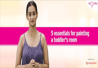 9 Months | Season 3 | Five essentials for painting a toddler's room