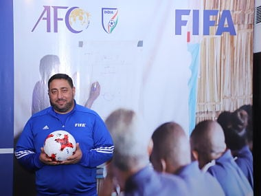 Muhannad Alfakeer, Technical Director of Syrian football, besides being an AFC Technical Committee member. IMage courtesy: AIFF