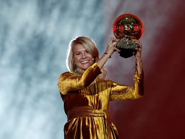 Women's Ballon d'Or winner Ada Hegerberg says historic night not marred by on-stage 'twerk' request