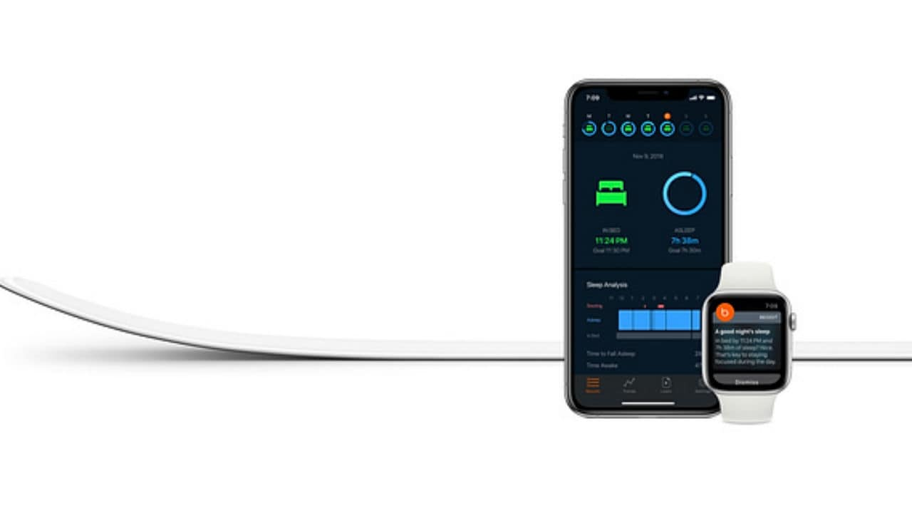 Apple releases its Beddit 3.5 sleep monitor, a 2 mm thin sensor strip for $150- Technology News, Firstpost