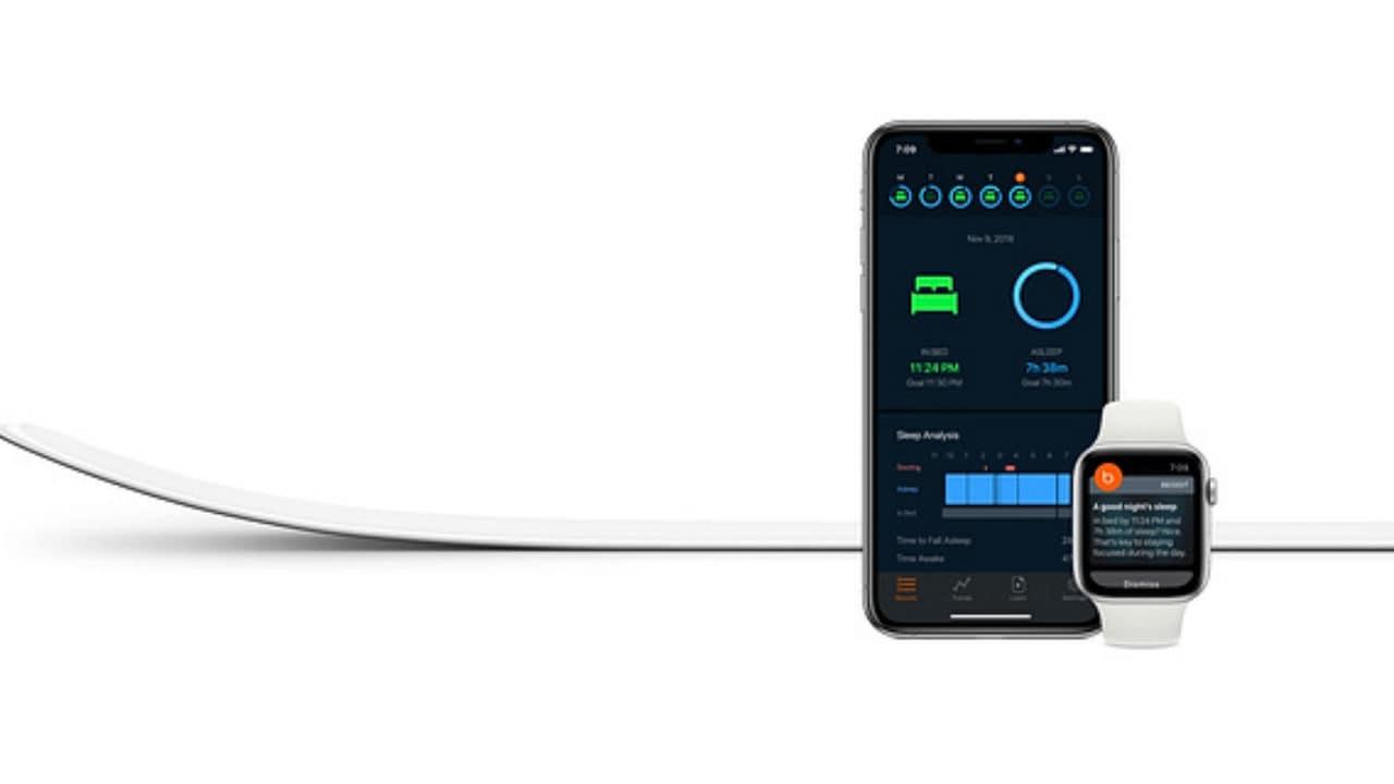Beddit Sleep Monitor. Image: Apple