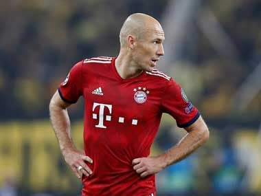 Bundesliga: Injured Arjen Robben admits he may never get a chance to play for Bayern Munich again