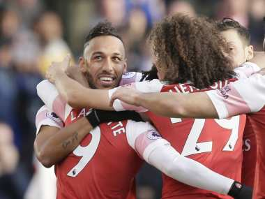 Arsenal returned to winning ways with 3-1 win over Burnley. AP