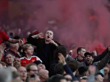 Premier League: Tottenham fan arrested for throwing banana peel onto pitch during Pierre-Emerick Aubameyangs goal celebration