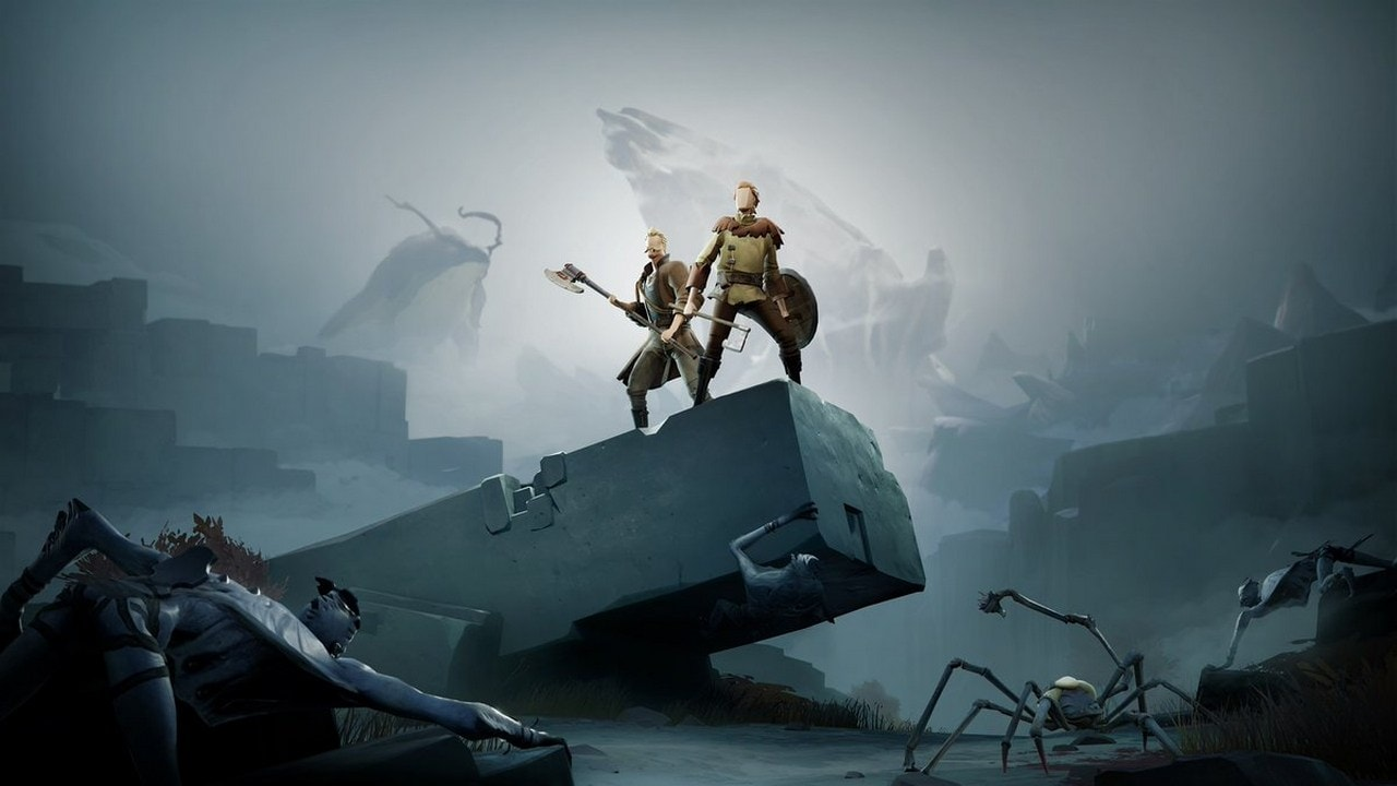 Journey and Dark Souls inspired action RPG Ashen is now out for Xbox One and PC
