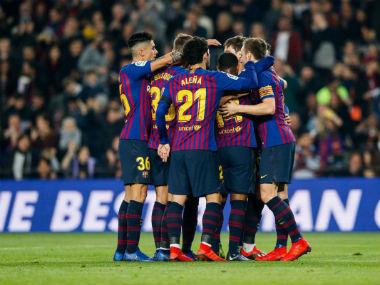 File image of Barcelona. Twitter: @FCBarcelona