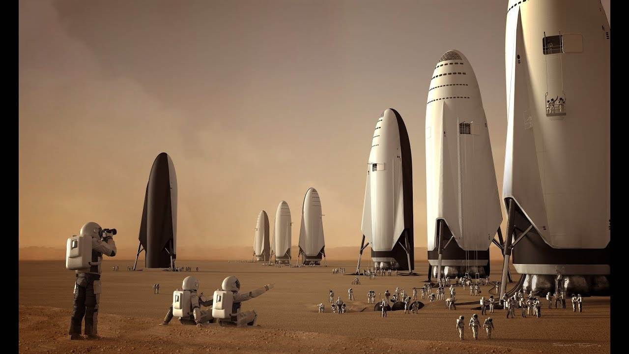 Elon Musk intends to send 100 people to Mars on SpaceX