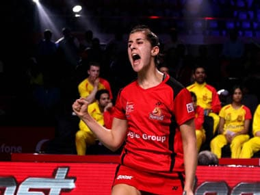 Persuading Carolina Marin to make the switch from Hyderabad Hunters is a huge coup for the Pune 7 Aces. Image Credit: PBL