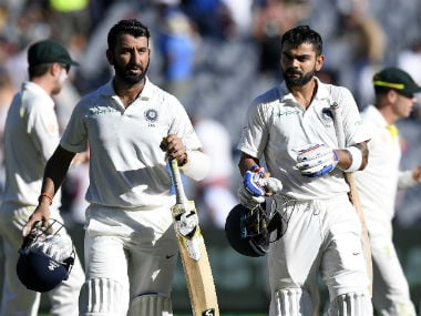 Cheteshwar Pujara maintains third spot in Virat Kohli-led ICC Test batsmen rankings; Pat Cummins becomes No 1 bowler