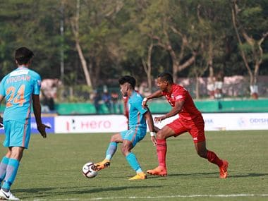 Willis Plaza scored the solitary goal as Churchill Brothers returned to winning ways after two successive defeats. I-League