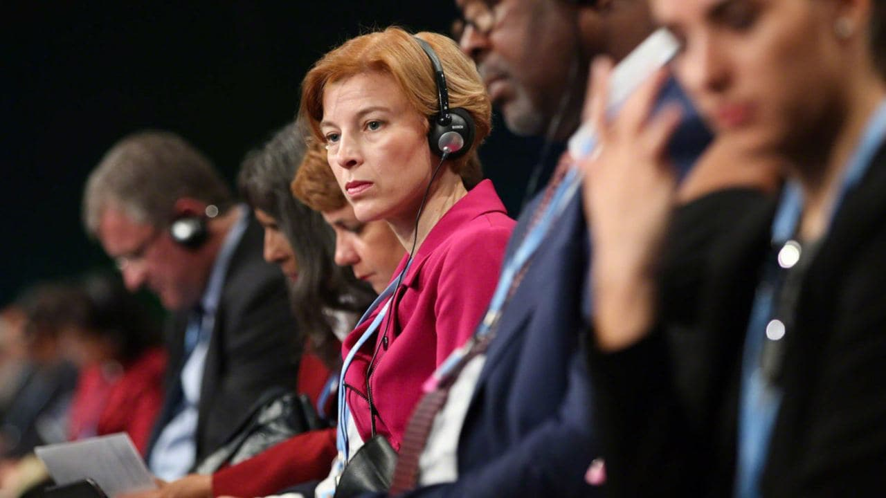 Delegates from a COP24 session on 3 Dec 2018_Flickr