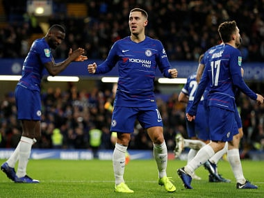 Eden Hazard has potential to become Chelsea's greatest player ever according to Gianfranco Zola. Reuters/Peter Nicholls