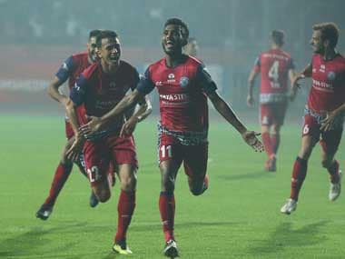 Farukh Choudhary's goal made the difference as Jamshedpur FC came back from a goal down to beat Delhi Dynamos. Twitter@IndSuperLeague