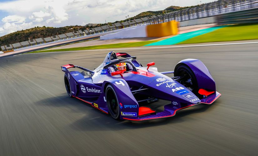 The radical car design of the Gen2 has appealed to fans and drivers world over. Image courtesy: Twitter @EnvisionVirgin