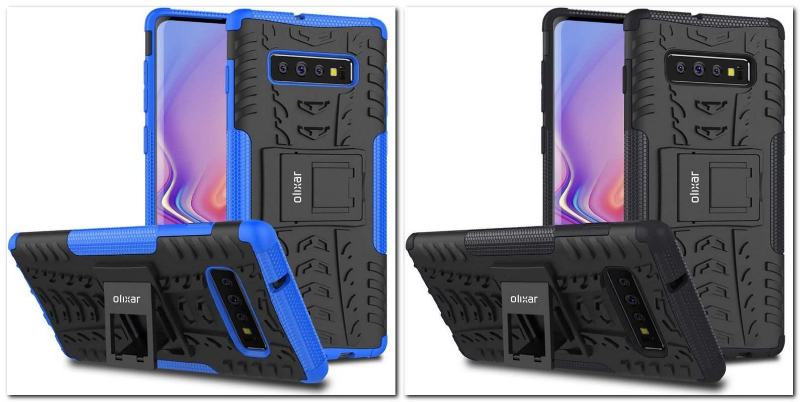 Galaxy S10 Bumper cases. Image: Olixar
