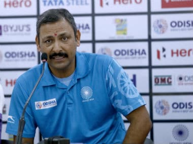 Coach Harendra Singh said India will not alter their attacking style. Image: Hockey India