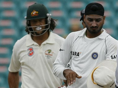 Andrew Symonds claims Harbhajan Singh 'broke down crying' over 'monkeygate' incident; Indian off-spinner denies incident