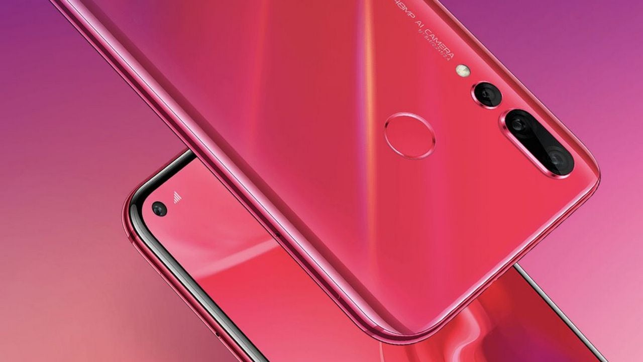 Hauwei Nova 4 announced with 48 MP rear camera, punch-hole display at CNY 3,399
