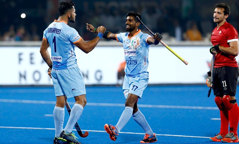 As India lead 2-1, the team found expression, the panicking Canadians gave space, and in a matter of ten minutes, the host nation had closed the match with a 5-1 victory.