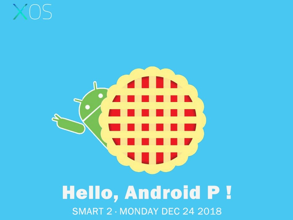 Android Pie for Infinix Smart 2. Image: Facebook