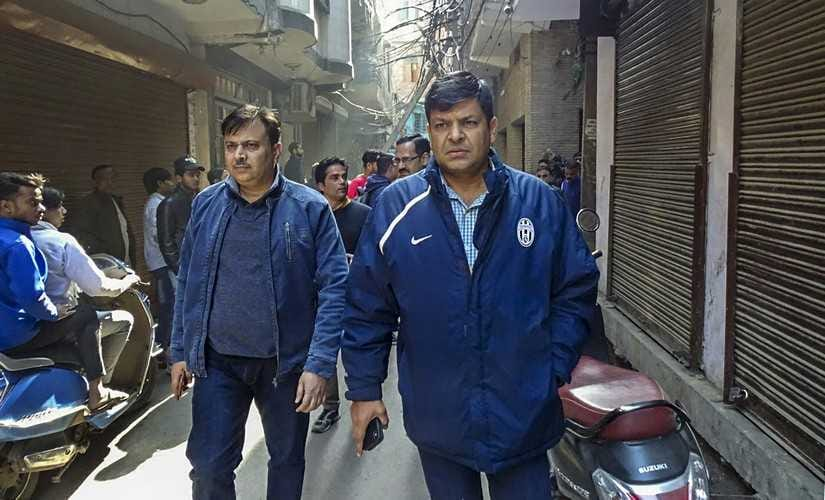 NIA and Delhi Police officials during a search operation in connection with a probe into a new ISIS module at Jaffrabad, North East district in Delhi. PTI