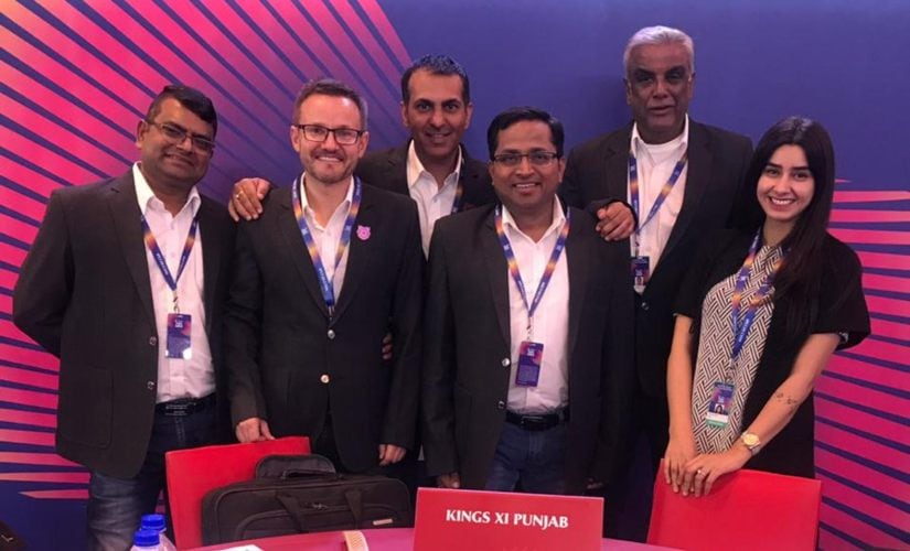 Kings XI Punjab acquired 13 players at IPL auction 2019. Twitter @lionsdenkxip