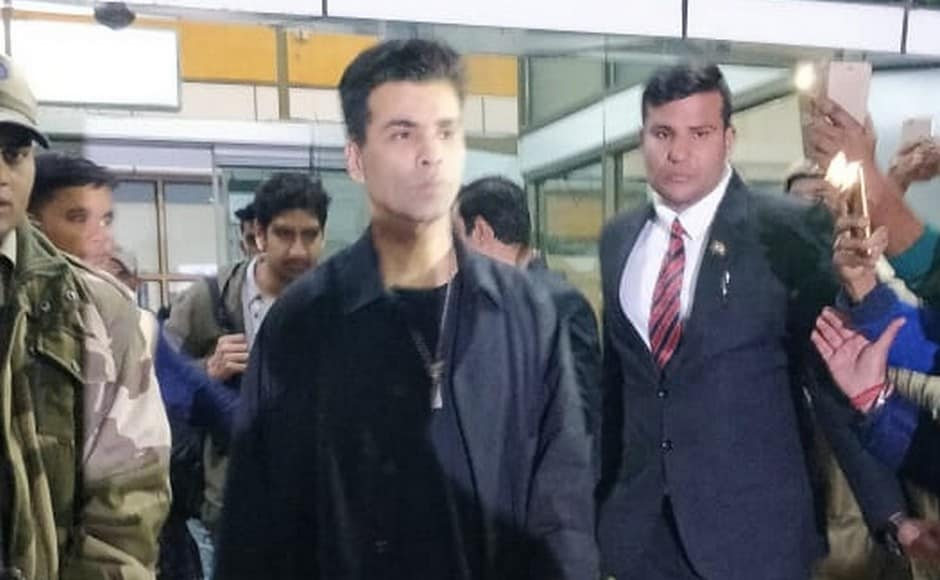 Karan Johar arrives in Udaipur to attend the pre-wedding festivities, which will also see the setting up of a specially curated exhibit called the Swadesh Bazaar