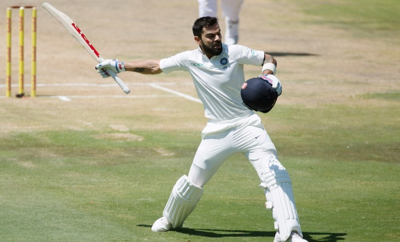 Virat Kohli smashed five Test centuries in 2018, starting the year with a dominant 153 in Centurion. Reuters