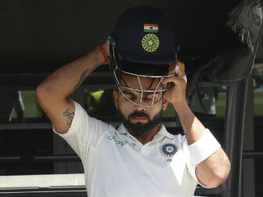 Virat Kohli maintained his top spot in the ICC Test batting rankings after his century at Perth. AP