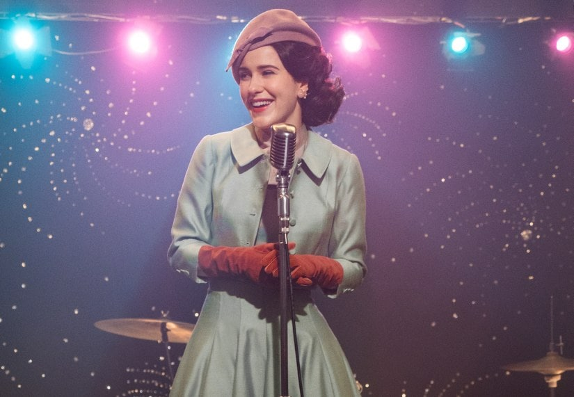 Mrs. Maisel is more self-assured in her stand-up sets in Season 2. Amazon Prime Video