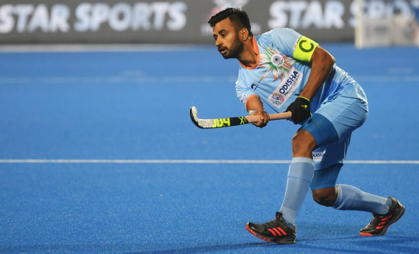 Indian midfield, led by skipper Manpreet Singh, will be tasked to create chances against The Netherlands. AFP